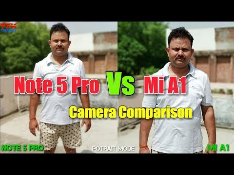 Redmi Note 5 Pro vs Mi A1 Camera Comparison