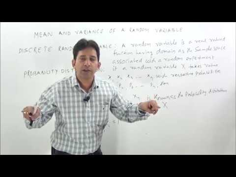 Mean And Variance Of A Random Variable-1