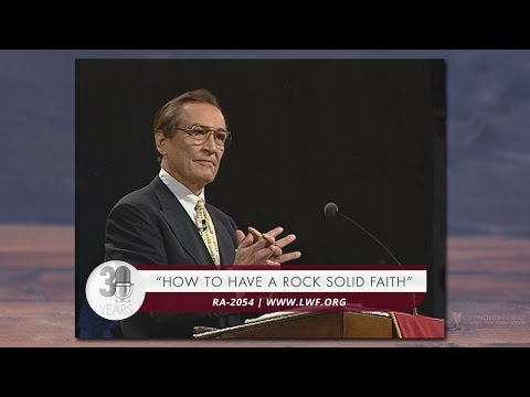 Adrian Rogers: How to Have a Rock-Solid Faith #2054