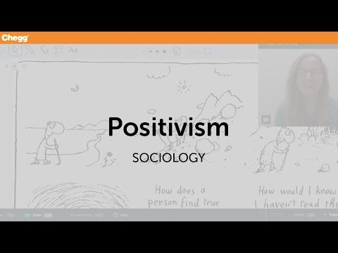 Positivism | Sociology | Chegg Tutors