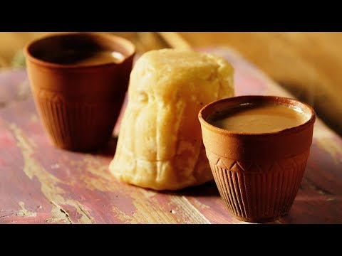 Gud Ki Chai - Jaggery Tea Recipe - How To Make Tea With Jaggery