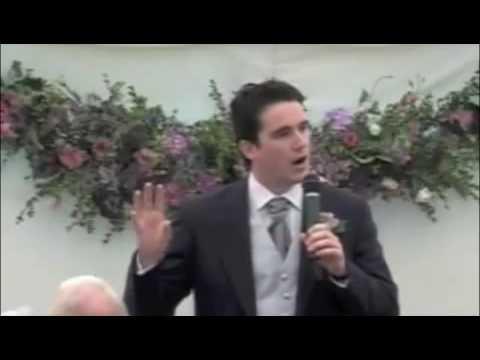 An Example of a Best Man Speech, London UK