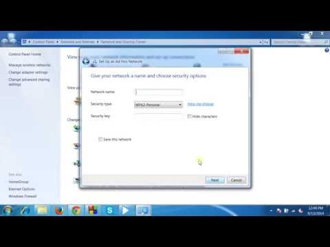Turn your laptop  in to wifi hotspot without any software