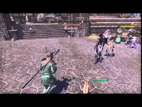 Riding the smallest mount ever in Elder Scrolls Online