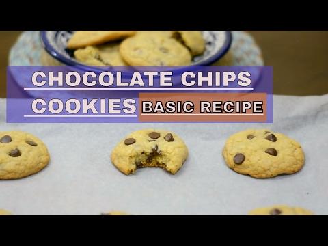 Cookies recipe | BASIC CHOCOLATE CHIP COOKIES RECIPE