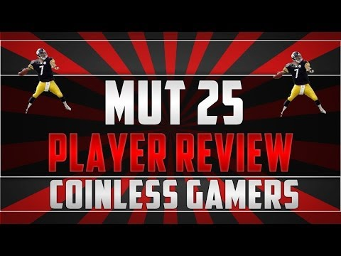 Madden 25- Ultimate Team- Player Review- Captain Ben Roethlisburger