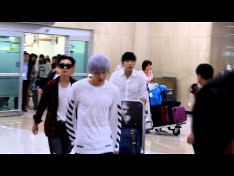140901 Donghae and Eunhyuk Gimpo airport