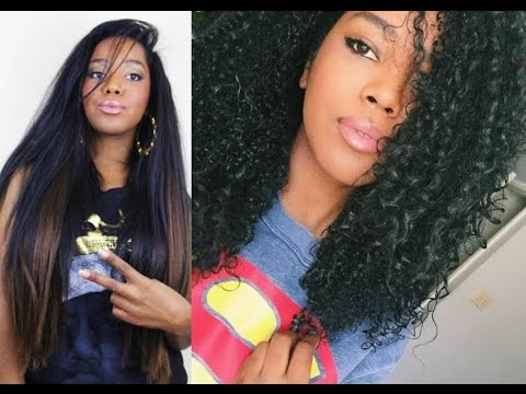 Watch My Natural Hair Revert | Straight to Curly (Heat Damage?)