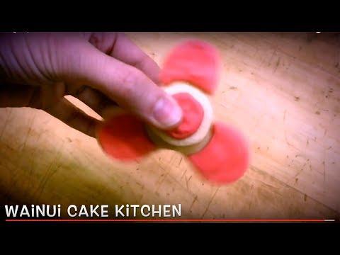 Fidget Spinner Cookies at Wainui Cake Kitchen.