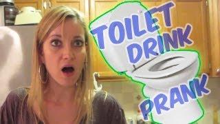 TOILET WATER DRINK PRANK
