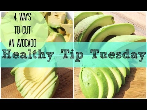 How to Cut an Avocado | Healthy Tip Tuesday