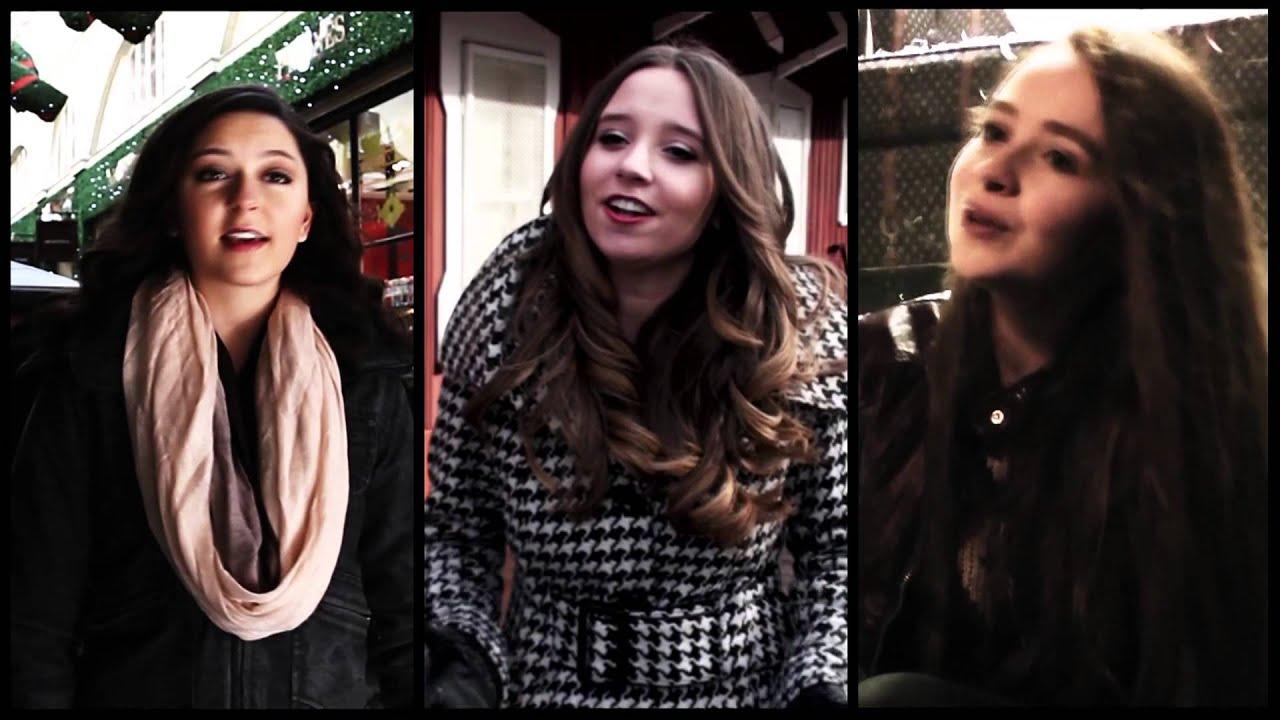 Ali Brustofski, Sabrina Carpenter & Danielle Lowe - I'll Be Home for Christmas