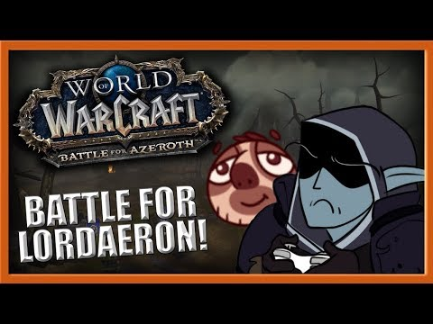 THE BATTLE FOR LORDAERON... With WoWCrendor! - (Battle for Azeroth Beta)