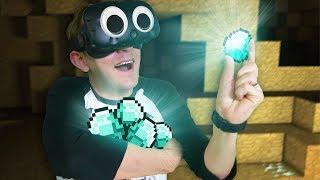 WE STRUCK DIAMOND! | Minecraft Mixed Reality [Ep 13]