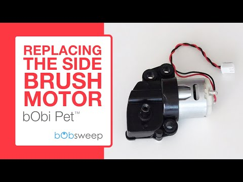 Replace the Side Brush Motor | bObi Pet™