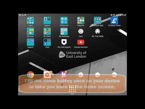 Samsung Galaxy Tab A - How to set up your UEL Email Account