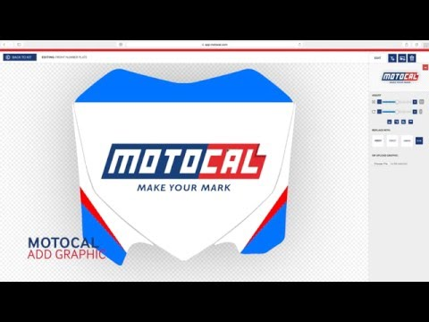 How To Add Graphics - Number Plate Design - Motocal.com