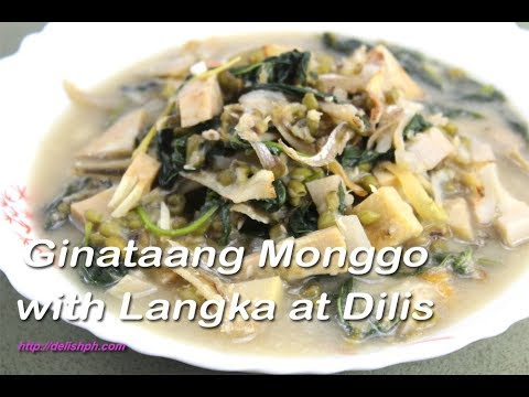 Ginataang Monggo with Langka at Dilis