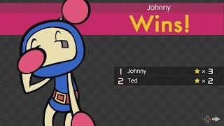 super bomberman r  part 8 ted and johnny play