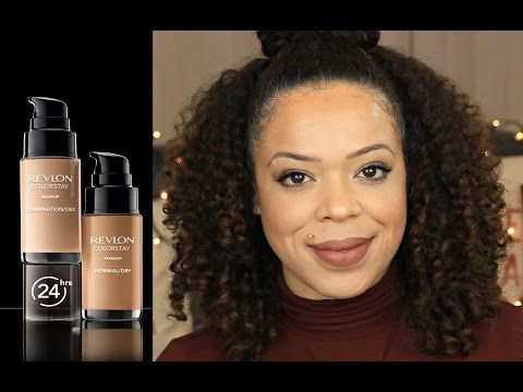 REVIEW: Revlon Colorstay Foundation | Combination oily | Vilma Marie