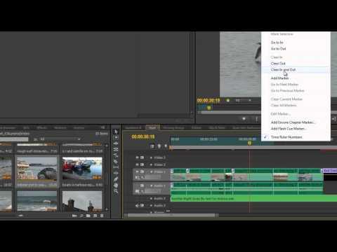 Premiere Pro CS6 Techniques: 26 Three & Four Point Editing