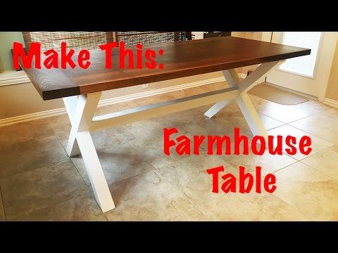 Make This: Farmhouse Table