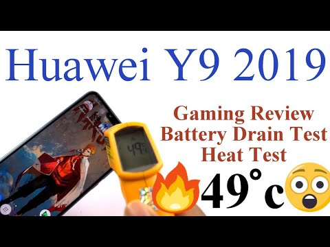Huawei Y9 2019  Gaming Review, Battery Drain Test, Heat Test