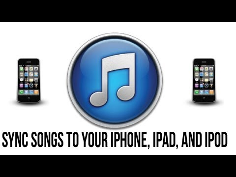 Itunes 11 Tutorial - How To Sync Songs To Your iPhone, iPad or iPod