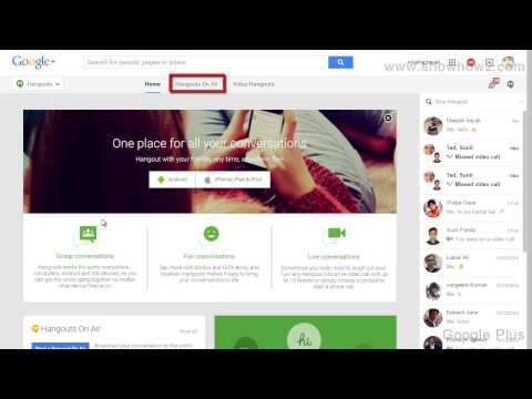 Google+ - How To Start A Hangouts On Air