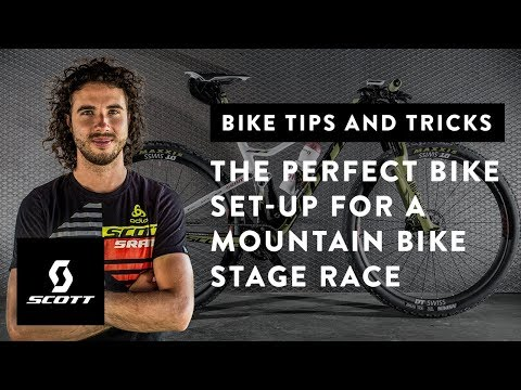 The Perfect Bike Set-Up for a Mountain Bike Stage Race