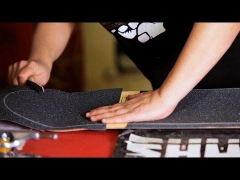 How to Trim & File Grip Tape | Custom Skateboard