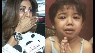 Shilpa Shetty Reaction On Small Girl Tortured By Parents!