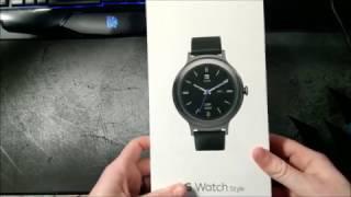 LG Watch Style Titanium - unboxing
