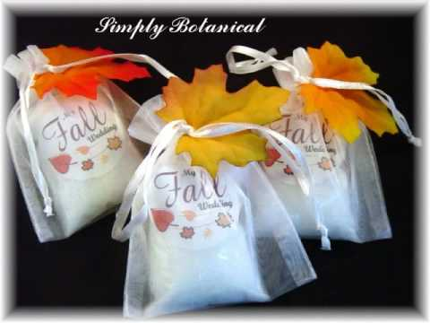 Handmade Soap,  Bath and Candles Wedding Favors/Gifts