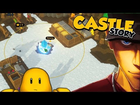 Castle Story ARCHERS NEED HATS FOR WORK! - Part 1 | Let's Play Castle Story Gameplay