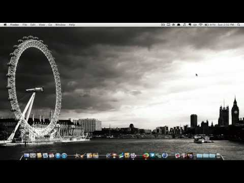  How to change your menu bar to black on mac