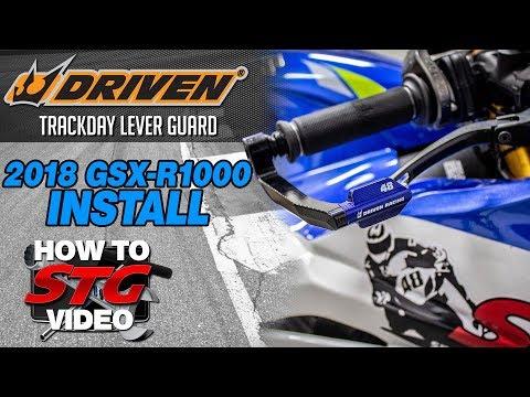 Driven Suzuki GSX-R1000 Track Day Lever Guard Install | Sportbike Track Gear