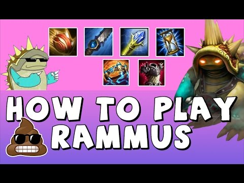 Build and Guide for AP Offtank Rammus - How to Play Rammus -【League of Legends】