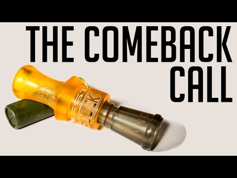 The Comeback Call   How To Blow A Duck Call