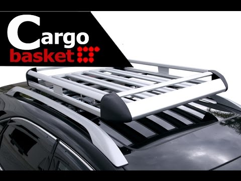 Rooftop Basket Cargo Carrier Installation Guide by LT Sport