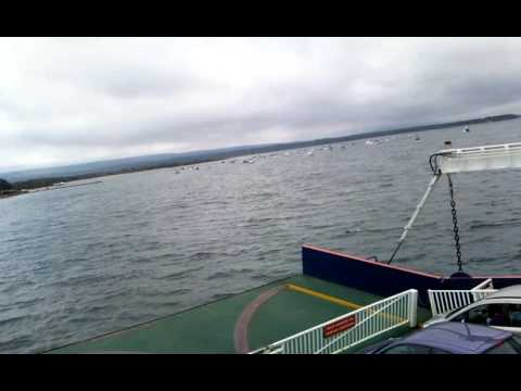 From coast to swanage island in FERRY