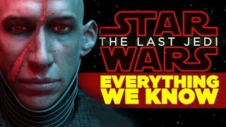 Star Wars Last Jedi - EVERYTHING WE KNOW (All Characters, Planets, New Plot Details)