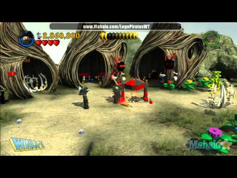 LEGO Pirates of the Caribbean Complete Free Play Walkthrough - Final Complete Pass - Pt 16