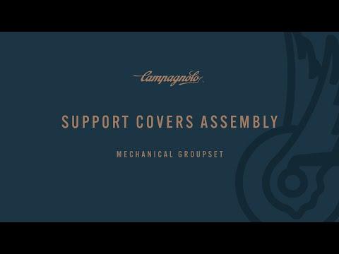 CAMPAGNOLO - Ergopower™ Ultra Shift™  support installation -- Montaggio dei copri supporto.