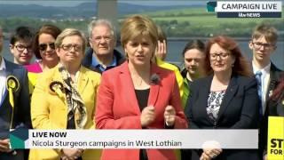 Nicola Sturgeon dismisses Labour manifesto