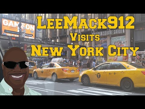LeeMack912 Visits New York City | July 2017