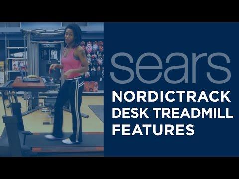 NordicTrack Desk Treadmill Feature - Quiet Motor