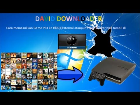 How to put Games in PS3 for can play in Multiman