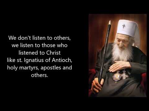 Orthodox Patriarch Paul of Belgrade about Adventists