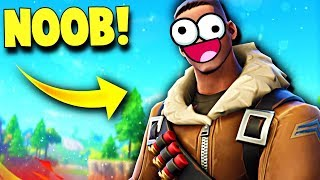Being a NOOB On Fortnite....😂 (Fortnite Battle Royale Funny Moments)